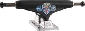 INDE STD 149mm SK8MAFIA BLACK/SIL TRUCK x2