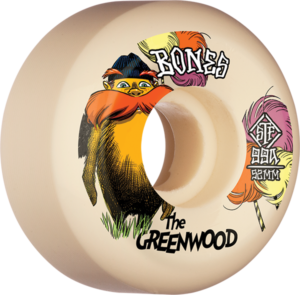 BONES GREENWOOD STF V5 THE GREENWOOD 52mm NAT x4