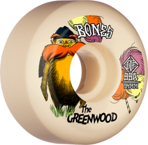 BONES GREENWOOD STF V5 THE GREENWOOD 54mm NAT x4