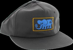 BLL ELEPHANT FRAME HAT ADJ-CHARCOAL