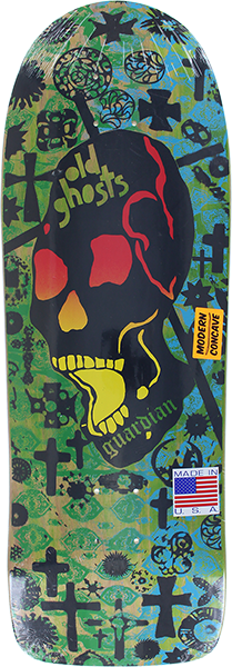 VISION OLD GHOST MC DECK10x30.25 LIME/GRN/BLU