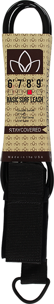 STAY COVERED BASIC 8' LEASH BLACK