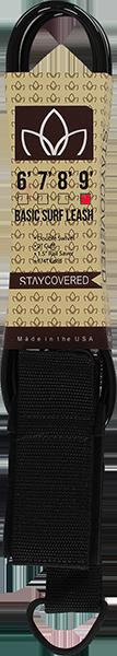 STAY COVERED BASIC 9' LEASH BLACK