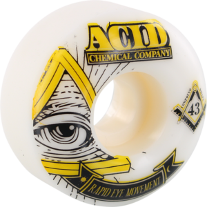 ACID REM PYRAMID 52mm 101a WHT x4
