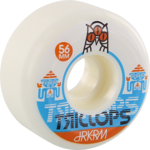 TRICLOPS SPINNER 56mm WHT x4