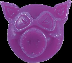 PIG HEAD RAISED CURB WAX PURPLE