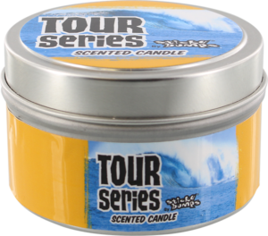 STICKY BUMPS CANDLE 5oz TIN TOUR BANANA