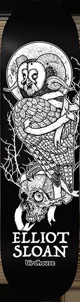 Birdhouse SLOAN OWL DECK-8.5 BLK/WHT