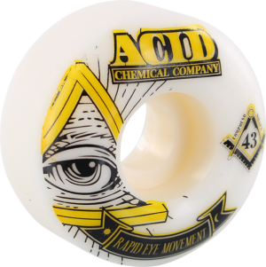 ACID REM PYRAMID 52mm 99a WHT x4