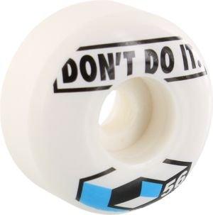 CONSOLIDATED DON'T DO IT 56mm WHITE x4