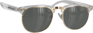 HAPPY HR G2 CLEAR/GOLD SUNGLASSES