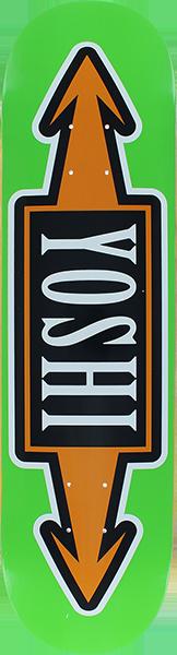 STEREO YOSHI ARROWS DECK-8.0 GREEN