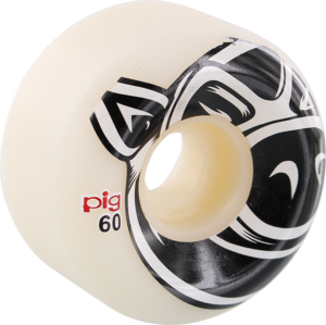 PIG CONICAL 3D PIG 60mm 101a WHITE x4