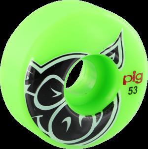 PIG PROLINE HEAD 53mm GREEN x4