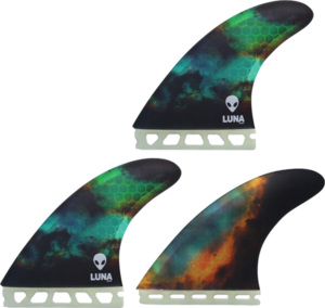 LUNASURF LARGE THRUSTER FUTURE NEBULA 3fin set