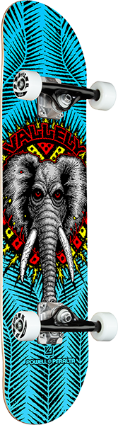 Powell Peralta VALLELY ELEPHANT COMPLETE-8.0 BLUE
