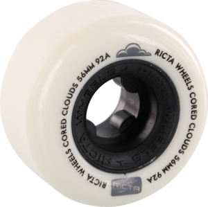 RICTA CORED CLOUDS 56mm 92a WHT/BLACK x4