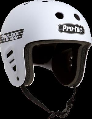PROTEC FULLCUT CLASSIC MATTE WHT-XL HELMET