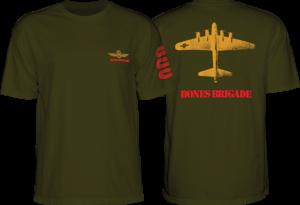 BONES BRIGADE BOMBER SS MILITARY GREEN