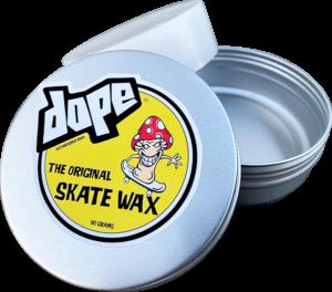 DOPE SKATE WAX WHT W/ROUND TIN STASH BOX