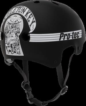 PROTEC(CPSC)CL.OLD SCHOOL SKELETON KEY BLK/WHT-XL