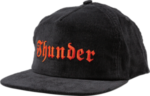 THUNDER EVIL HAT ADJ BLK/RED