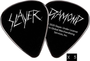 DIAMOND X SLAYER GUITAR PICK 5/PK BLACK