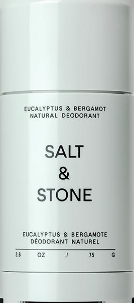SALT & STONE NATURAL EUCALYPTUS+BERGAMOT DEODORANT