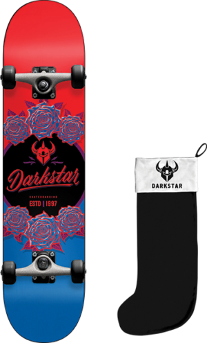 Darkstar IN BLOOM W/STOCKING COMP-8.0 RED/BLUE fp