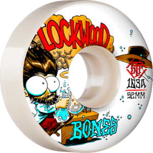 BONES LOCKWOOD STF V3 EXPERI-MENTAL 52mm WHT x4