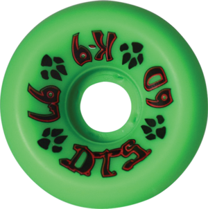 DOGTOWN K-9 80'S 97a GREEN x4