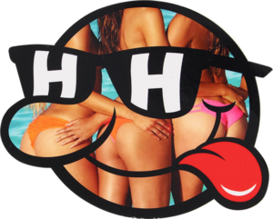 HAPPY HOUR SONNY BUNS LARGE DECAL single