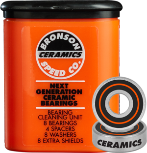 BRONSON CERAMIC BEARINGS SINGLE SET