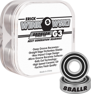 BRONSON G3 ERICK WINKOWSKI BEARINGS SINGLE SET