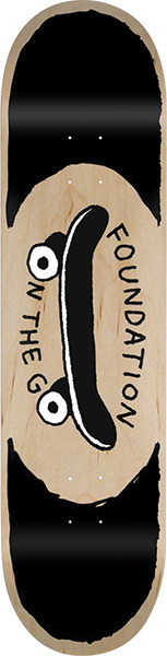 Foundation ON THE GO DECK-8.0 NAT/BLK