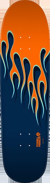 Powell Peralta HOTROD FLAMES 21 DK-9.37x33.8 NITRO ORG/BLU