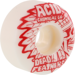 ACID TYPE A DEADFEATHER SIDECUT 101a WHITE x4