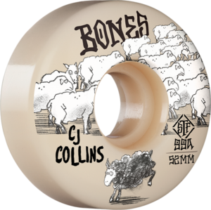 BONES COLLINS STF V3 BLACK SHEEP 52mm NAT x4