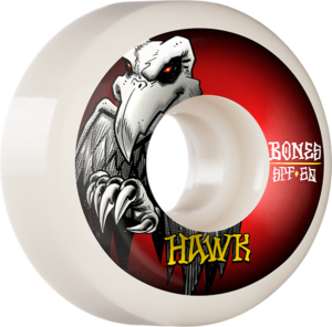 BONES HAWK SPF P5 FALCON 60mm WHT x4