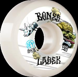 BONES LASEK SPF P5 TORTOISE & HARE WHITE x4