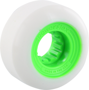 POWERFLEX GUMBALL 58mm 83b WHT/LIME x4