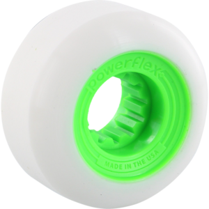 POWERFLEX GUMBALL 60mm 83b WHT/LIME x4