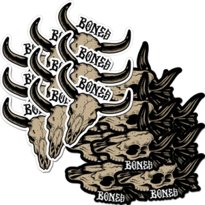 BONES WHEELS DESERT WEST 20/PK ASST DECAL