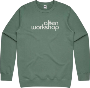 Alien Workshop STACKED CREW/SWT GREEN