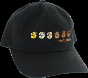 GHETTO CHILD UNITY HAT ADJ-BLACK