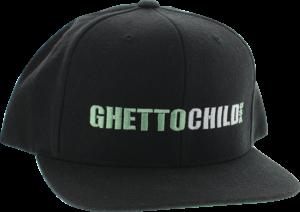 GHETTO CHILD CLASSIC USA HAT ADJ-BLACK/GRN