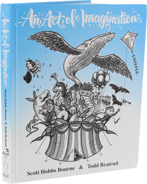 AN ACT OF IMAGINATION HARDCOVER BOOK