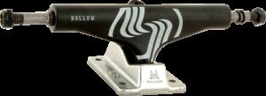 SILVER M-HOLLOW 7.75 BLK/RAW W/SIL x2