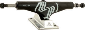 SILVER M-HOLLOW 8.25 BLK/RAW W/SIL x2