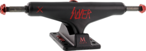 SILVER M-HOLLOW 8.5 SLAY BLK/BLK/RED x2
